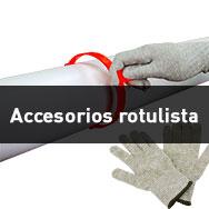 Accesorios para rotulistas
