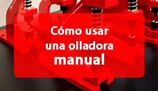 colocar olladora manual