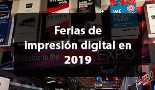Ferias de impresión digital en 2019