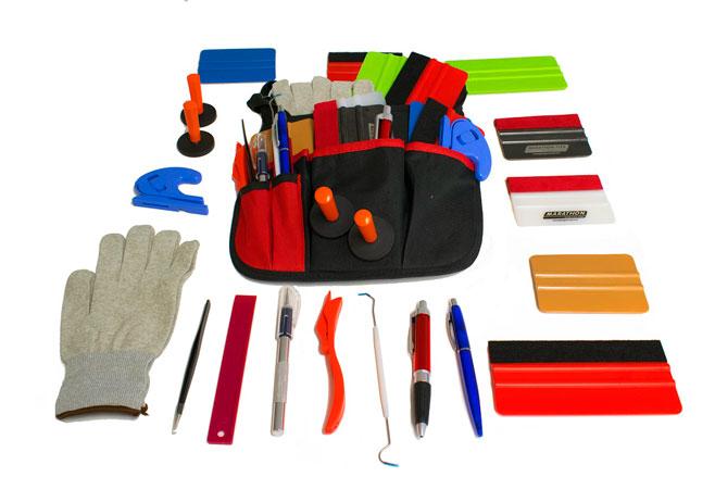 bolsa con herramientas profesional